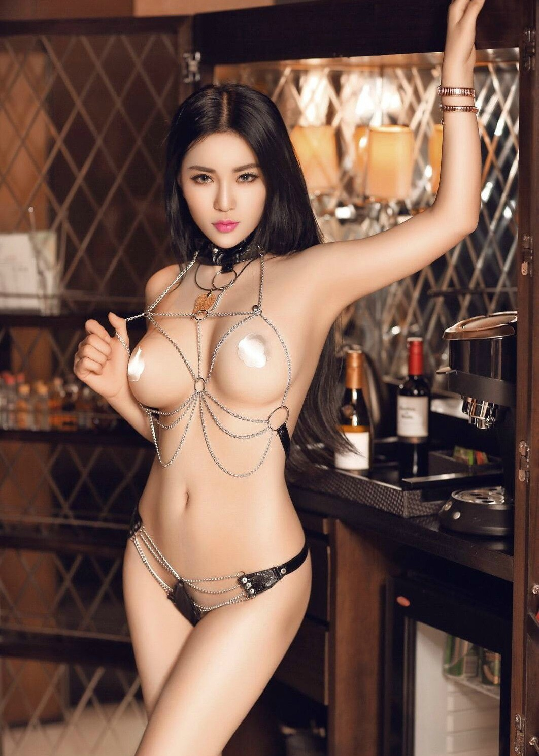 Wholesale China Factory Ladies Indian Nude Girls Photos Sexy Black Lace Underwear Lingerie